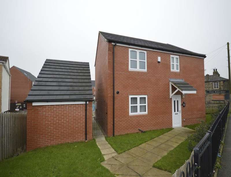 3 Bedrooms Semi Detached House for sale in Moor Knoll Gardens, East Ardsley, Wakefield, WF3