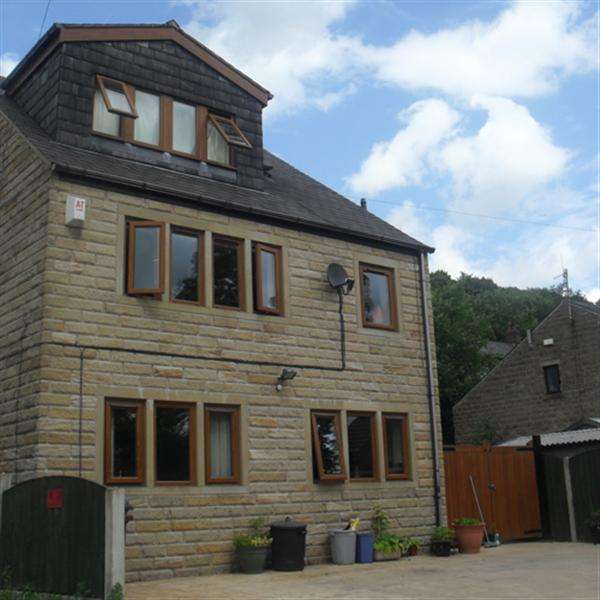 4 Bedrooms Detached House for sale in Shaw Hall Bank Road, Greenfield