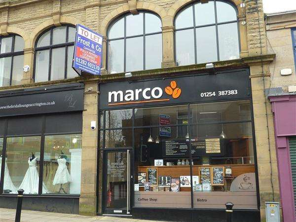 Commercial Property for sale in Marco's Coffee Shop, 3 Blackburn Road, Burnley