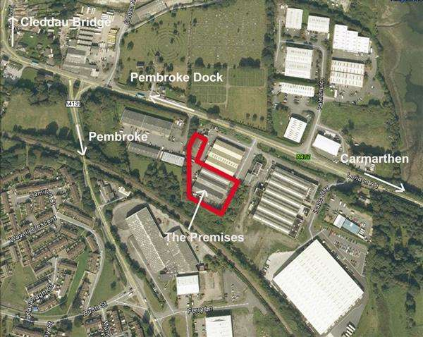 Commercial Property for sale in Premises At Glyntaf Mill, Kingswood Industrial Estate, Pembroke Dock