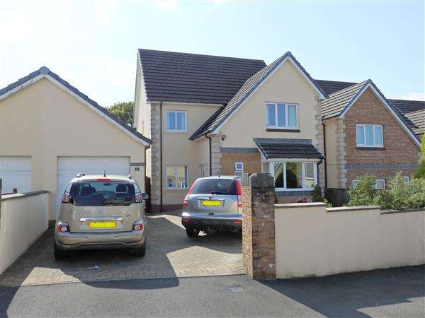 4 Bedrooms Detached House for sale in Llys Bethesda, TUMBLE, Llanelli