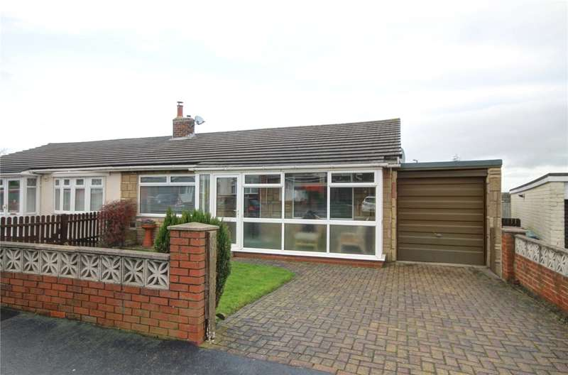 3 Bedrooms Semi Detached Bungalow for sale in Greenways, Delves Lane, Consett, DH8