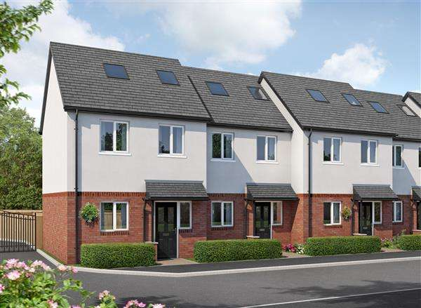3 Bedrooms Town House for sale in Chestnut House, Smithy Lane, Little Sutton