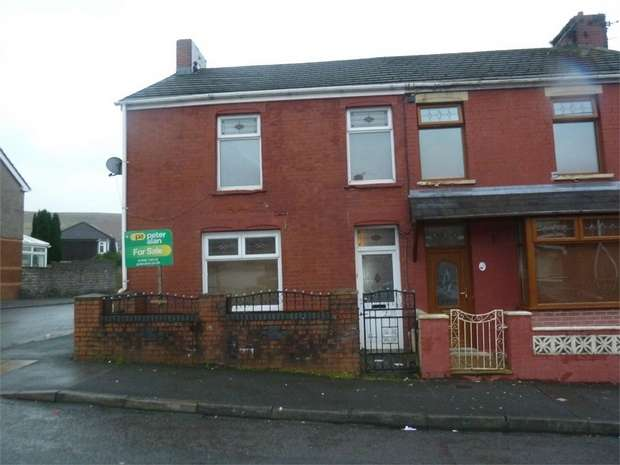 3 Bedrooms End Of Terrace House for sale in Duke Street, Garth, Maesteg, Mid Glamorgan