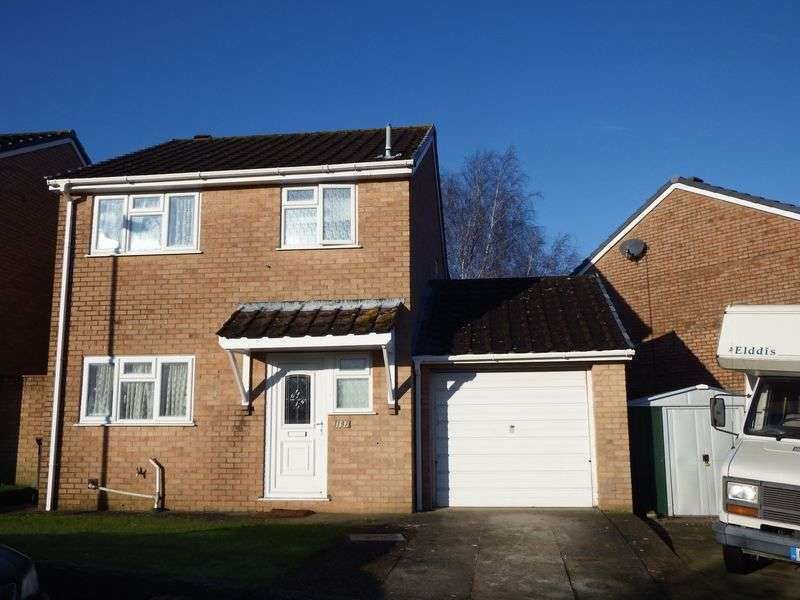 3 Bedrooms Detached House for sale in PARK VIEW, CREWKERNE, SOMERSET, TA18 8JH