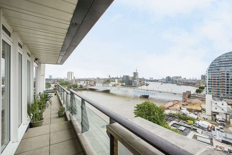 3 Bedrooms Flat for sale in Smugglers Way, London SW18