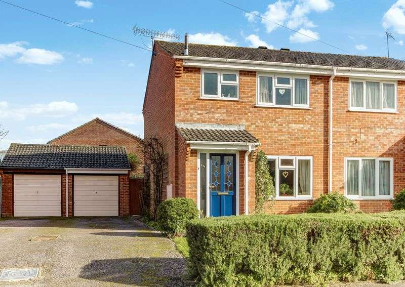 3 Bedrooms Semi Detached House for sale in Tadburn Road, Tadburn, Romsey, Hampshire