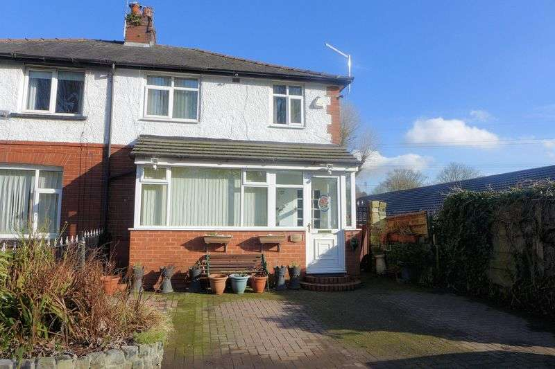 3 Bedrooms Semi Detached House for sale in Hulme Road, Radcliffe