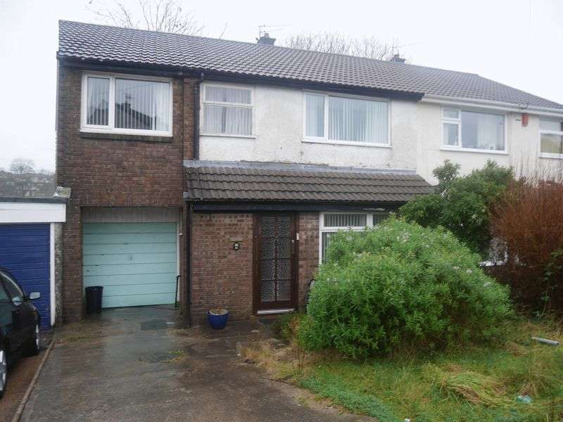 4 Bedrooms Semi Detached House for sale in Towyn Way, Tonteg CF38 1NB,