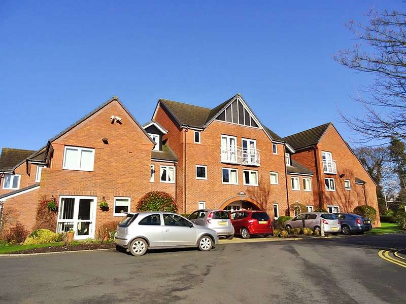 2 Bedrooms Retirement Property for sale in Wright Court, Nantwich, CW5 6SE