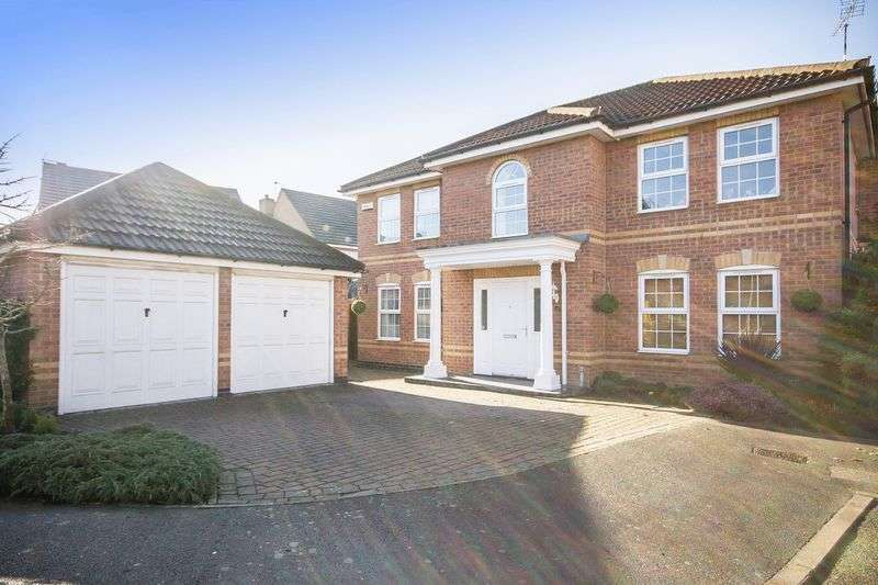 4 Bedrooms Detached House for sale in GLEN PARK CLOSE, CHELLASTON