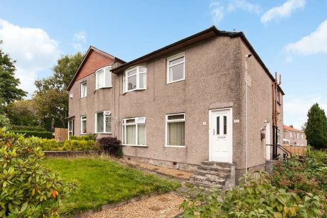 2 Bedrooms Flat for sale in Glencroft Road, King's Park, Croftfoot, Glasgow, G44 5RF