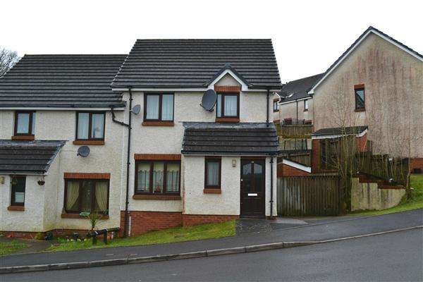 2 Bedrooms Semi Detached House for sale in Llys Caermedi, Carmarthen
