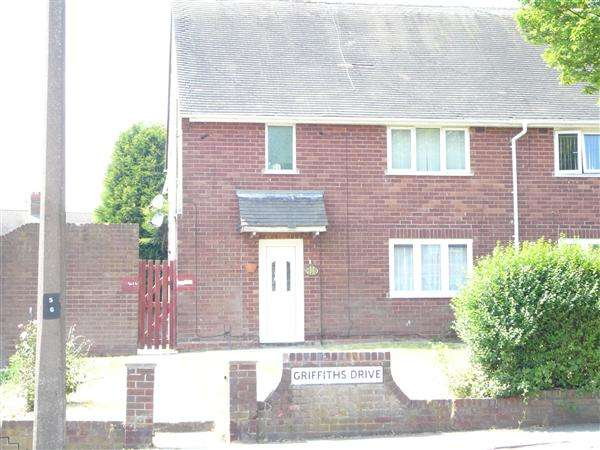 1 Bedroom Apartment Flat for sale in Griffiths Drive, Ashmore Park, Wednesfield