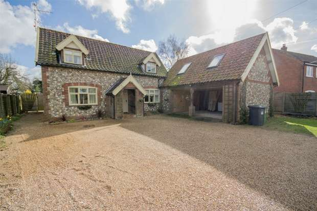 4 Bedrooms Detached House for sale in Sleepeezy, Little Snoring