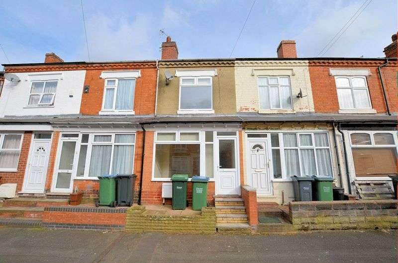 2 Bedrooms Terraced House for sale in Reginald Road, Smethwick