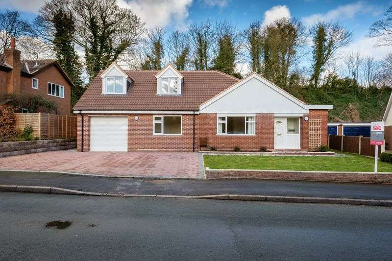 3 Bedrooms Detached Bungalow for sale in Silvermere Park, Shifnal