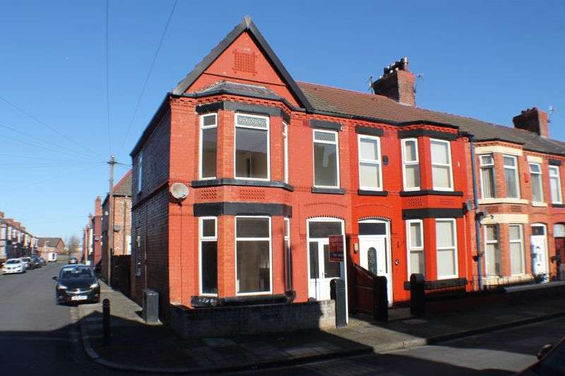 3 Bedrooms Terraced House for sale in Tennyson Avenue, Rock Ferry, Wirral