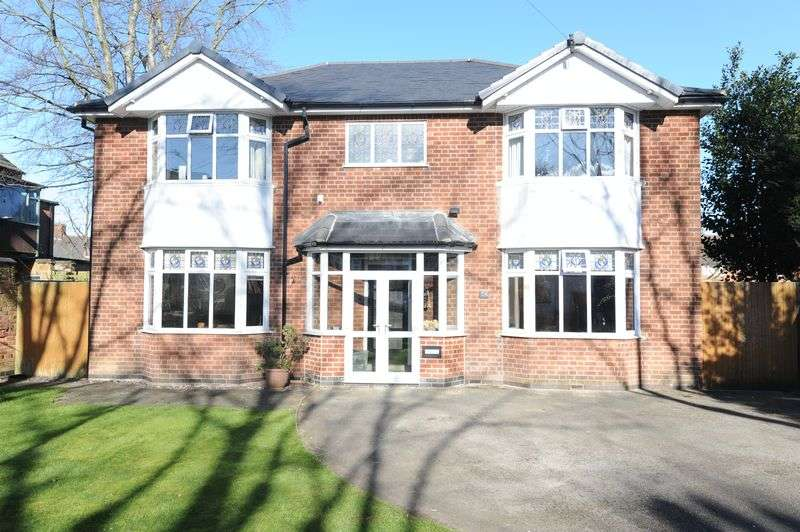 4 Bedrooms Detached House for sale in Burlington Road, Nottingham
