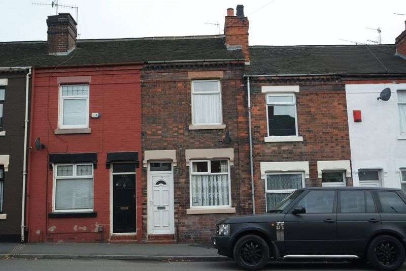 2 Bedrooms Terraced House for sale in Scotia Road, Burslem, Stoke-On-Trent, ST6 4HR