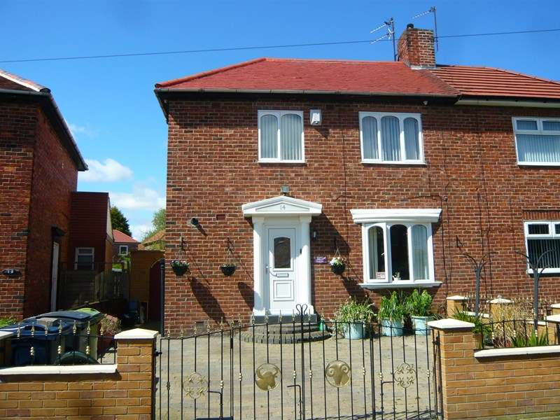 2 Bedrooms Semi Detached House for sale in Dunlop Crescent, South Shields