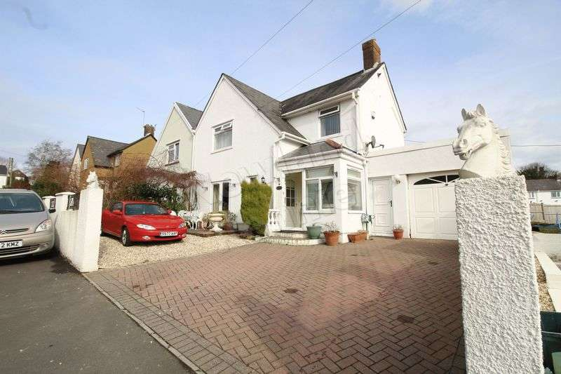 3 Bedrooms Semi Detached House for sale in Ifor Hael Road, The Uplands, Rogerstone