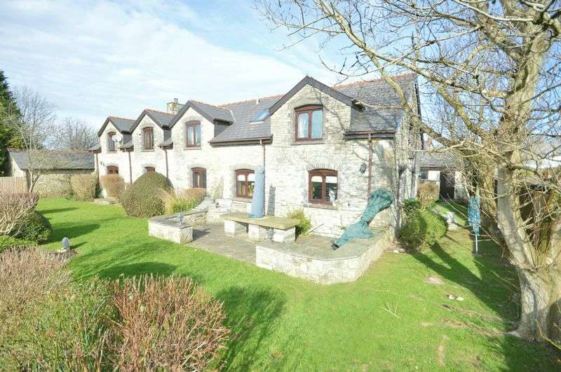 4 Bedrooms Detached House for sale in Marshall Hall, Penmark, Vale of Glamorgan, CF62 3BP