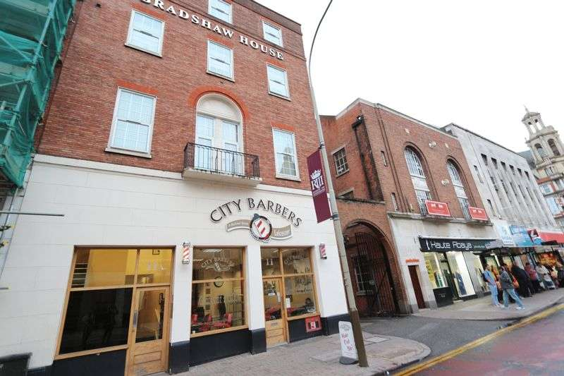 2 Bedrooms Flat for sale in Rutland Street, Leicester