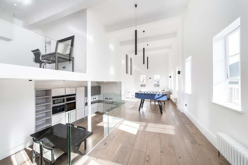 3 Bedrooms Flat for sale in Lamb Brewery Studios, Church Street, London, W4
