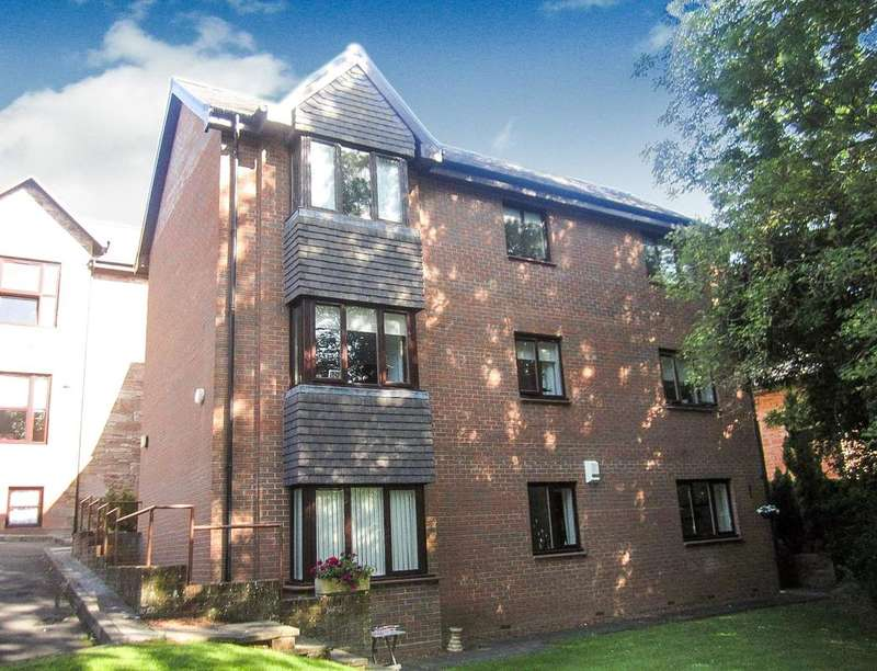 2 Bedrooms Flat for sale in Auchingramont Road, Hamilton, ML3