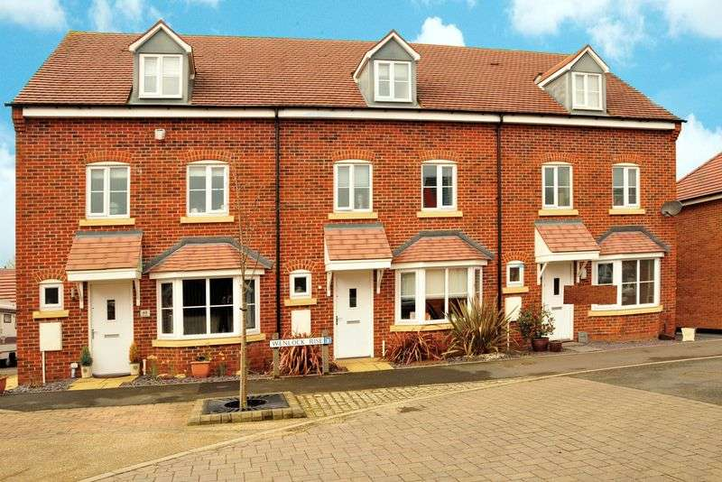 4 Bedrooms Terraced House for sale in Wenlock Rise, Bridgnorth