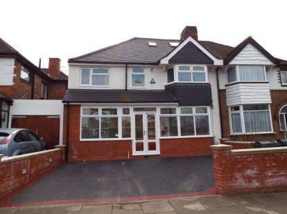 5 Bedrooms Semi Detached House for sale in Arden Road, Acocks Green, Birmingham, West Midlands