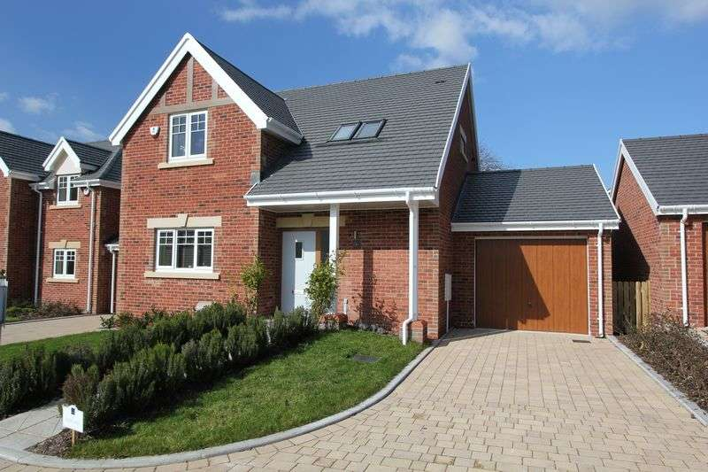 3 Bedrooms Detached House for sale in 5 KNOLL GARDENS, Brecon Road, Abergavenny