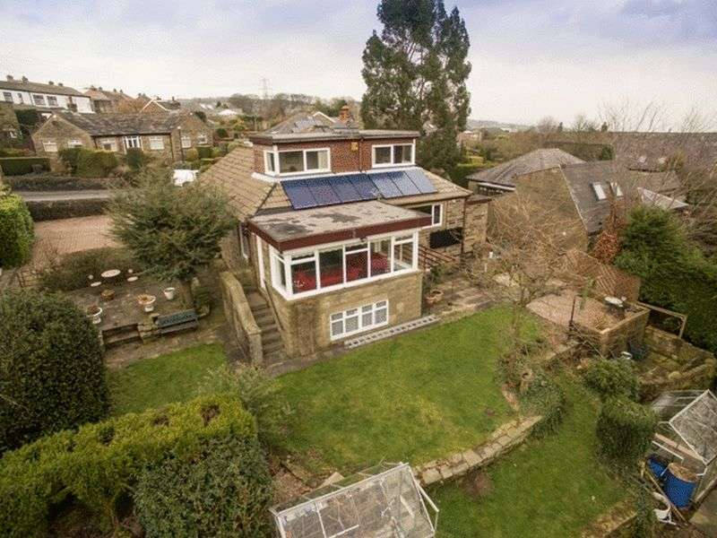 4 Bedrooms Detached Bungalow for sale in Stainland Road, Halifax