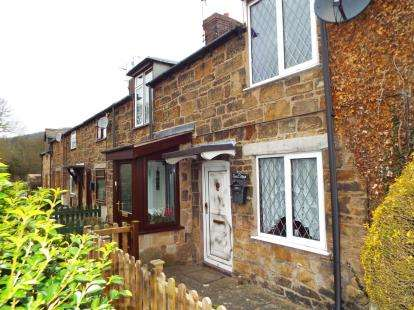 2 Bedrooms Terraced House for sale in Stone Cottages, Hawarden Road, Caergwrle, Wrexham, LL12