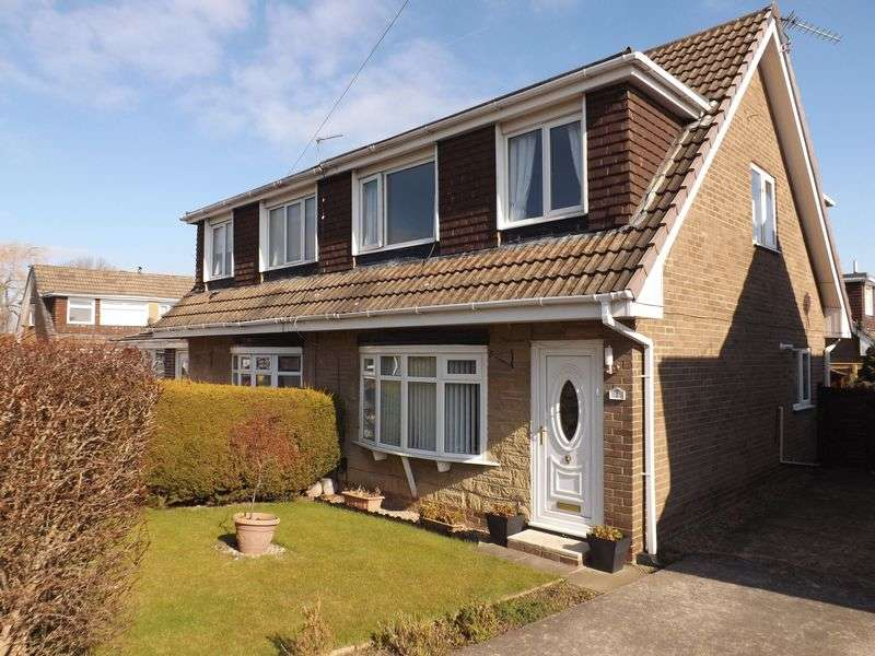 3 Bedrooms Semi Detached House for sale in Kirkfell Close, Eaglescliffe
