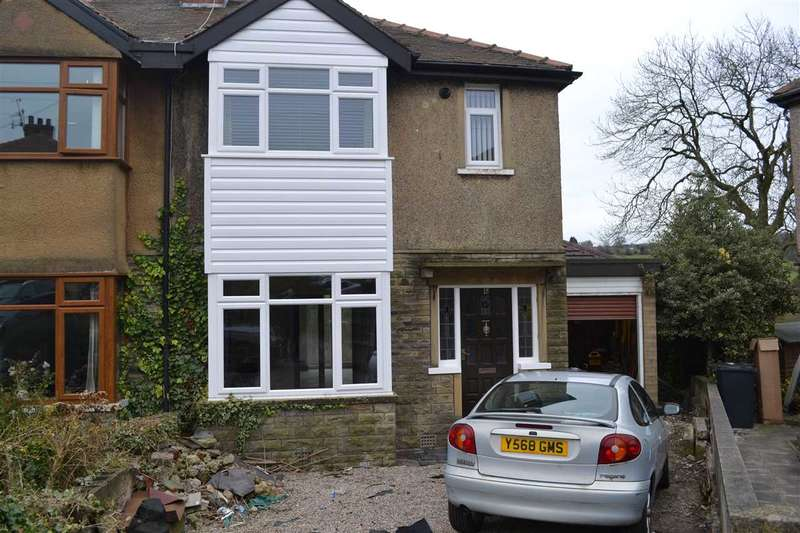 3 Bedrooms Semi Detached House for sale in Leaventhorpe Grove, Thornton, Bradford