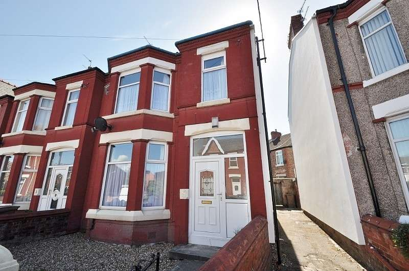 4 Bedrooms House for sale in Crescent Road, Wallasey