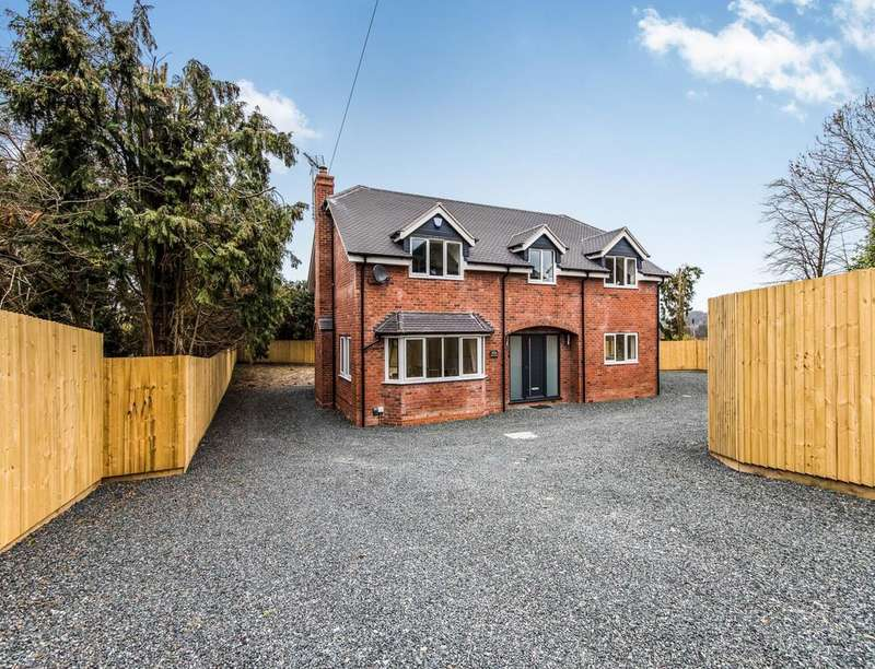 4 Bedrooms Detached House for sale in Hartshill, Oakengates, Telford, TF2
