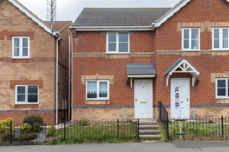 2 Bedrooms Semi Detached House for sale in Rayburn Court, Blyth, Northumberland, NE24