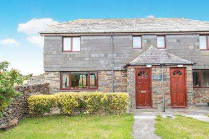 2 Bedrooms Semi Detached House for sale in St. Minver, Wadebridge, Cornwall