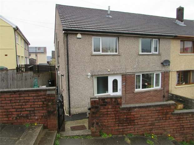4 Bedrooms Semi Detached House for sale in Valley View, Cimla, Neath, West Glamorgan