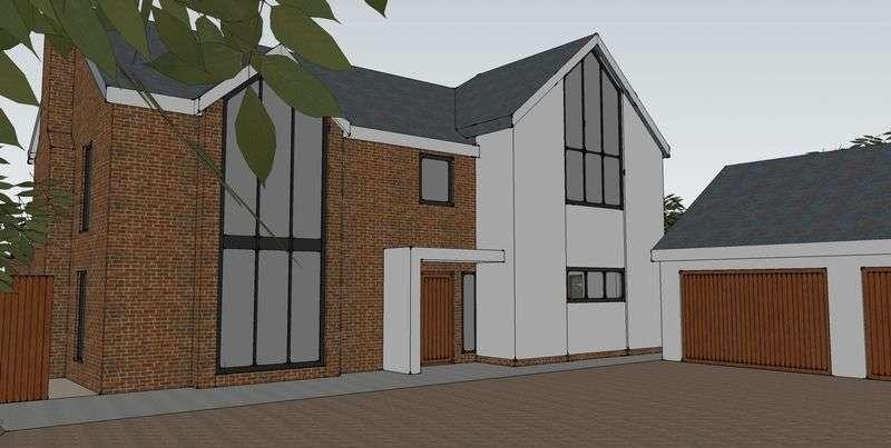 5 Bedrooms Detached House for sale in Llyndir Lane, Burton Green, Rossett, Wrexham