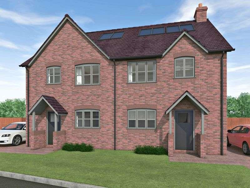 3 Bedrooms Semi Detached House for sale in Heath Court, Ellerdine