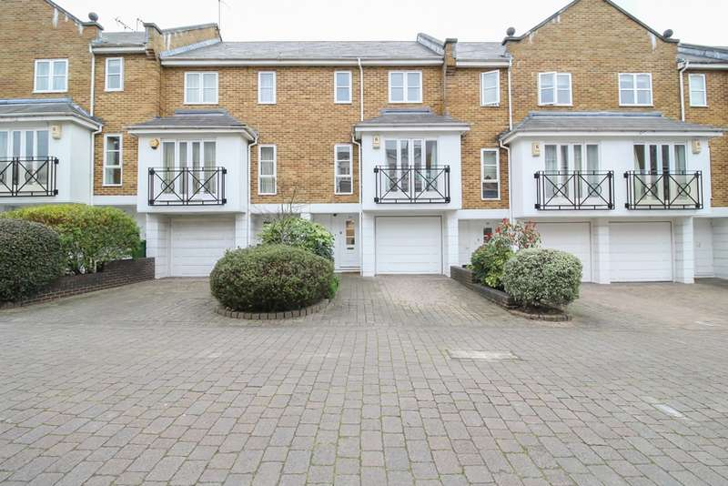 4 Bedrooms Terraced House for sale in Berridge Mews, London, London, NW6