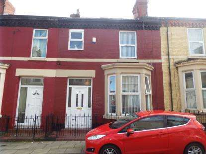 3 Bedrooms Terraced House for sale in Fell Street, Liverpool, Merseyside, L7