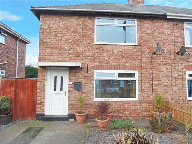 2 Bedrooms Semi Detached House for sale in Seventh Avenue, Blyth, Northumberland