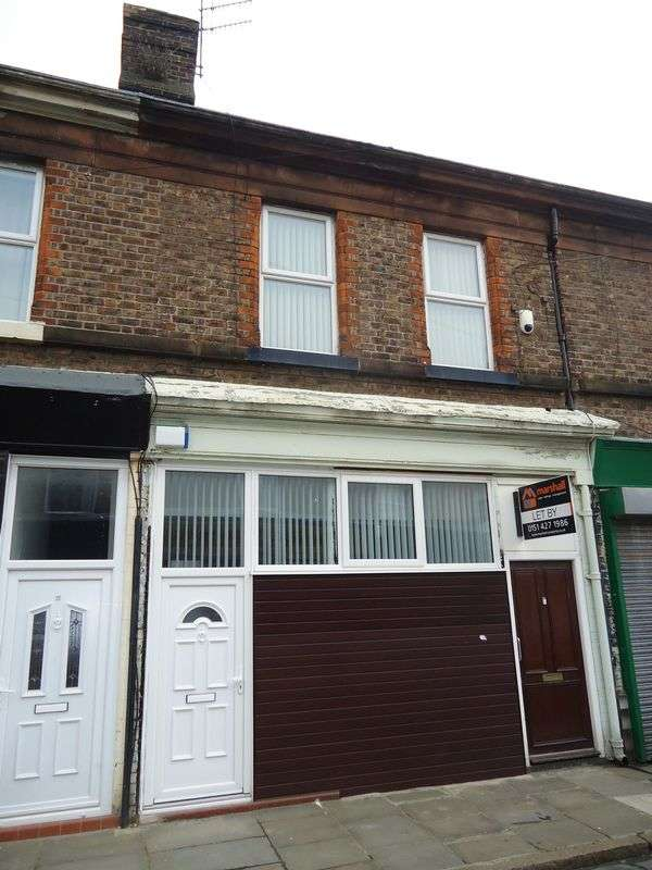 3 Bedrooms Flat for sale in James Street, Garston, Liverpool