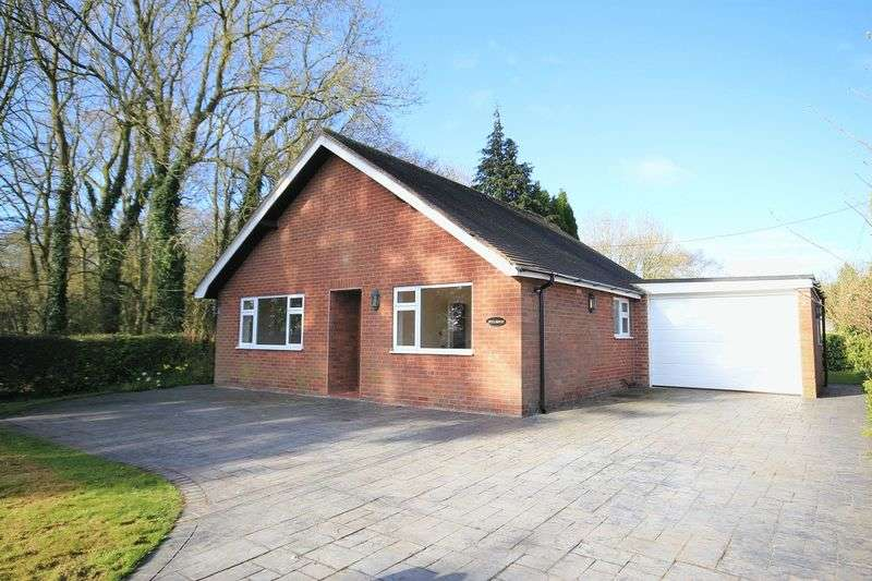 2 Bedrooms Detached Bungalow for sale in Steel Heath, Whitchurch