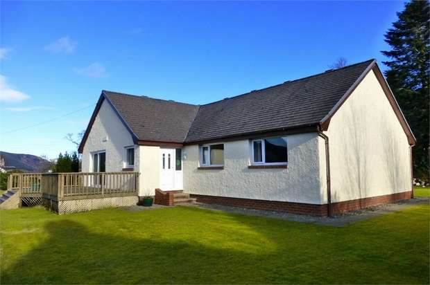 4 Bedrooms Detached Bungalow for sale in St Catherines, Cairndow, Argyll and Bute